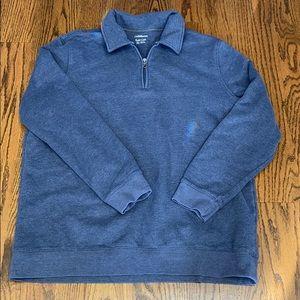 Men's sweatshirt style pull over